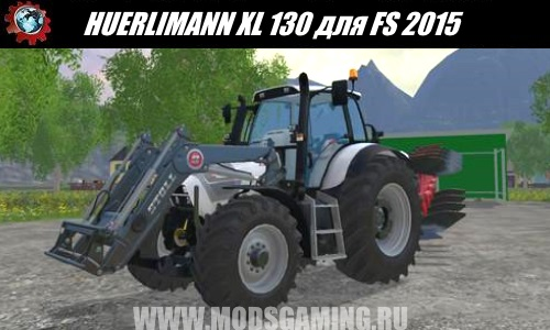 Farming Simulator 2015 download mod tractor HURLIMANN XL 130