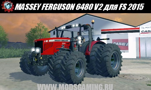 Farming Simulator 2015 download mod tractor MASSEY FERGUSON 6480 V2