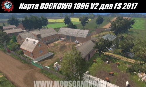 Farming Simulator 2017 download map mod BOCKOWO 1996 V2