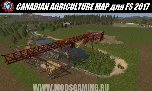 Farming Simulator 2017 download map mod CANADIAN AGRICULTURE MAP