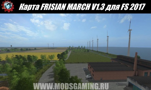 Farming Simulator 2017 download map mod FRISIAN MARCH V1.3