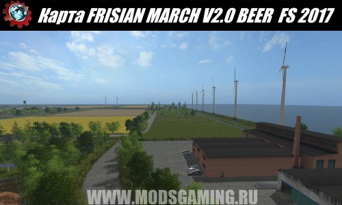 Farming Simulator 2017 download map mod FRISIAN MARCH V2.0 BEER + PATCH 1.4 READY
