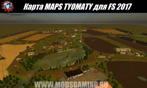 Farming Simulator 2017 download map mod MAPS TYOMATY