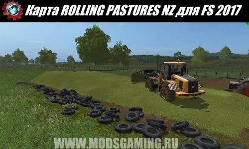 Farming Simulator 2017 download map mod ROLLING PASTURES NZ