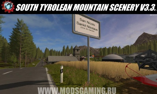 Farming Simulator 2017 download map mod SOUTH TYROLEAN MOUNTAIN SCENERY V3.3.
