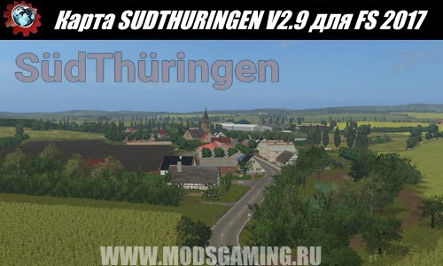 Farming Simulator 2017 download map mod SUDTHURINGEN V2.9