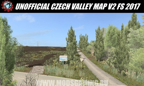 Farming Simulator 2017 download map mod UNOFFICIAL CZECH VALLEY MAP V2