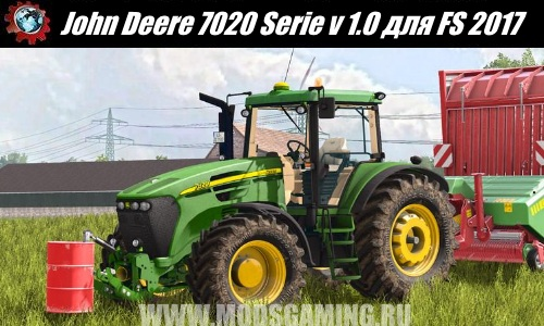 Farming Simulator 2017 download mod Tractor John Deere 7020 Serie v 1.0
