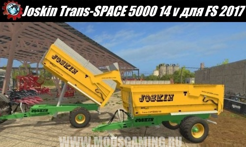 Farming Simulator 2017 download modes trailer Joskin Trans-SPACE 5000/14