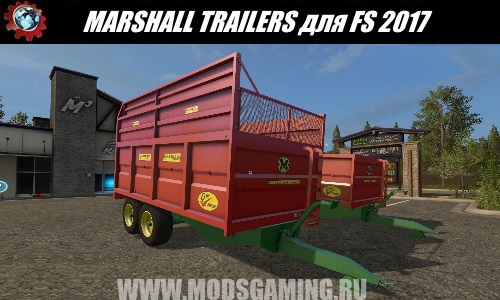 Farming Simulator 2017 download modes trailer MARSHALL TRAILERS