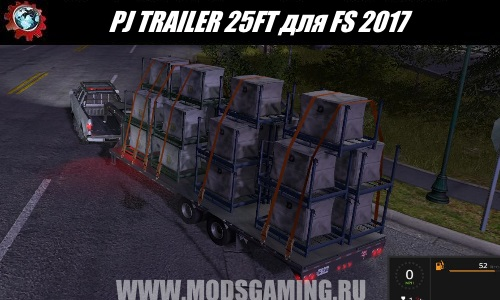 Farming Simulator 2017 trailer download mod PJ TRAILER 25FT