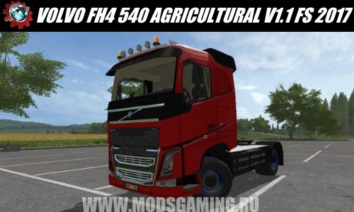 Farming Simulator 2017 download mod Truck VOLVO FH4 540 AGRICULTURAL V1.1