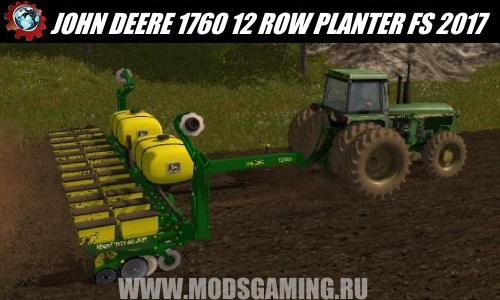Farming Simulator 2017 download mod Seeder JOHN DEERE 1760 12 ROW PLANTER