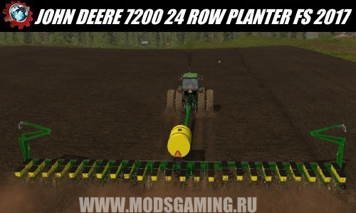 Farming Simulator 2017 download mod Seeder JOHN DEERE 7200 24 ROW PLANTER