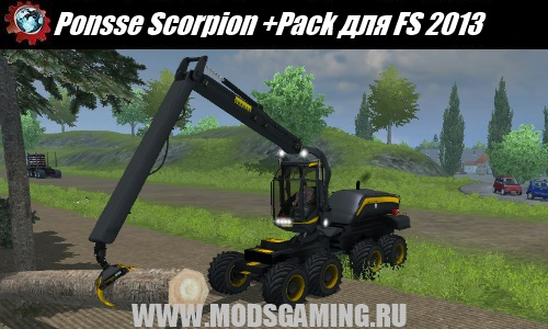 Farming Simulator 2013 mod download Ponsse Scorpion