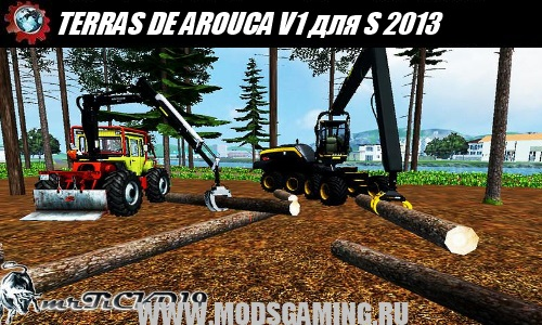 Farming Simulator 2013 mod download map TERRAS DE AROUCA V1.0 WATER MOD FORSTMOD