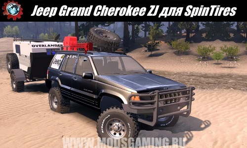 Spin Tires download mod SUV Jeep Grand Cherokee ZJ
