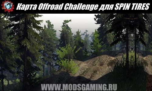SPIN TIRES download map mod Offroad Challenge