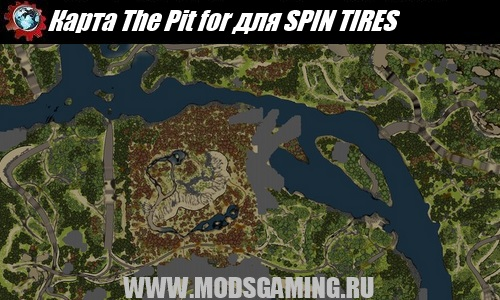 SPIN TIRES map mod download The Pit for