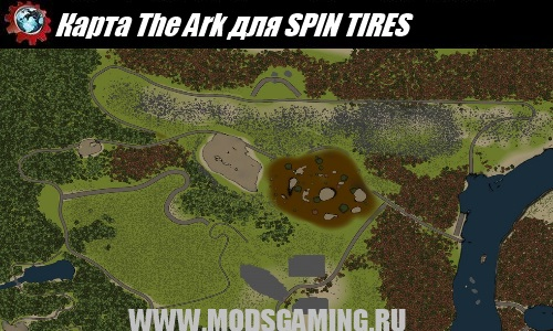 SPIN TIRES map mod download The Ark