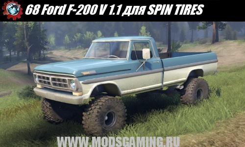 SPIN TIRES SUV download mod 68 Ford F-200 V 1.1