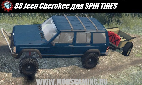 SPIN TIRES download mod 88 Jeep Cherokee SUV