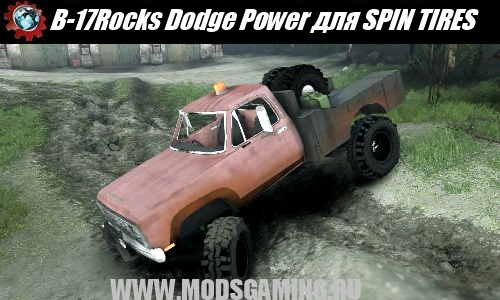 SPIN TIRES download mod SUV B-17Rocks Dodge Power Wagon WIP 1