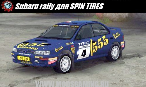 SPIN TIRES download mod Subaru rally car