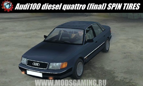 SPINTIRES download mod 100 diesel quattro Audi (final) for 03/03/16