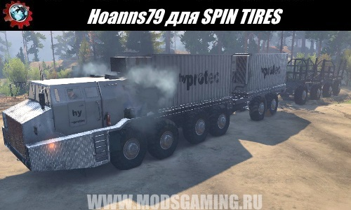 SPIN TIRES download mod Hoanns79 truck for 03/03/16