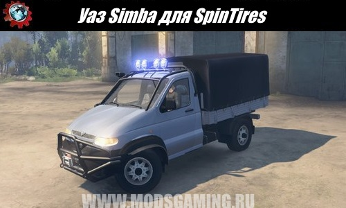 SpinTires download mod SUV UAZ Simba