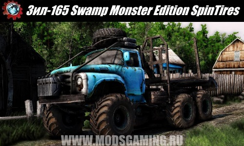 Spin Tires download mod Truck Zil-165 Swamp Monster Edition