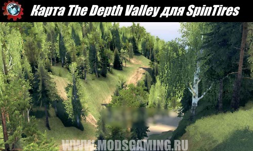 SpinTires download Fashion Map The Depth Valley