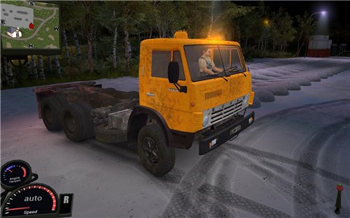 Мод КамАЗ 55102 для Spin Tires Level Up 2011 Скачать