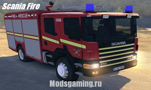 Spin Tires 2013 v1.5 скачать мод Scania Fire