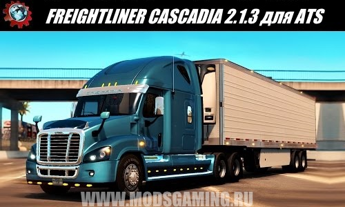 American Truck Simulator download mod truck FREIGHTLINER CASCADIA EDITED BY SOLARIS36 2.1.3