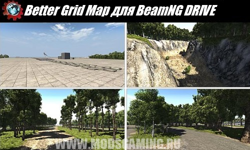BeamNG DRIVE download map mod Better Grid Map