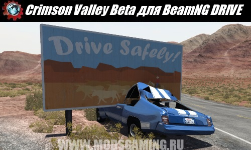 BeamNG DRIVE download map mod Crimson Valley Beta
