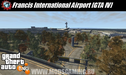 BeamNG DRIVE download map mod Francis International Airport [GTA IV]