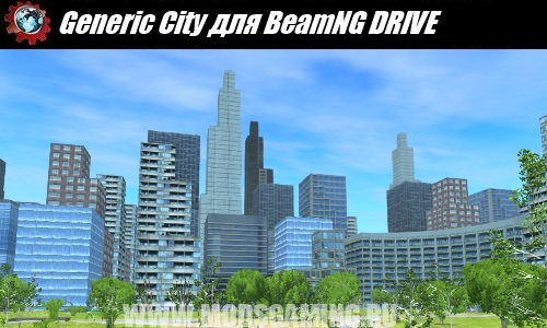 BeamNG DRIVE download map mod Generic City