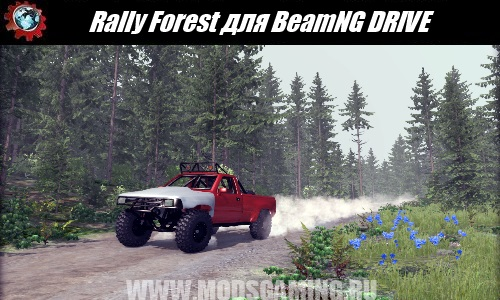 BeamNG DRIVE download map mod Rally Forest