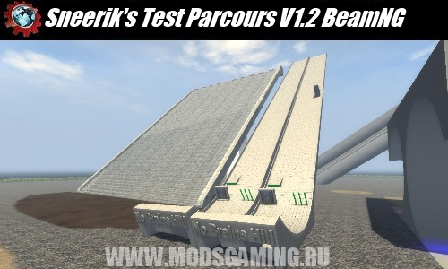 BeamNG DRIVE download map mod Sneerik's Test Parcours V1.2