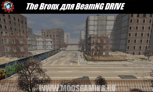 BeamNG DRIVE download map mod The Bronx