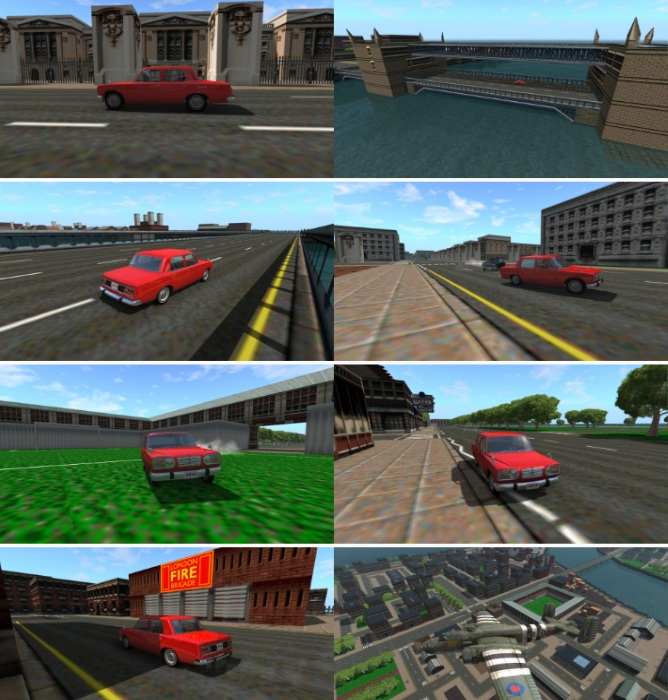 BeamNG.drive download map mod GTA London 1969