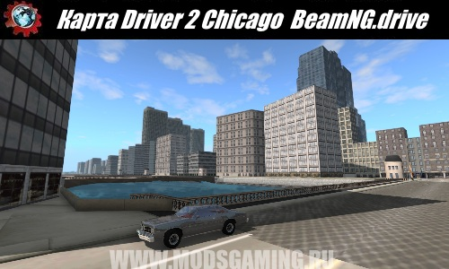 BeamNG.drive download map mod Driver 2 Chicago