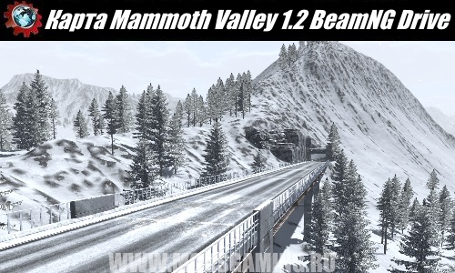 BeamNG Drive map download modes Mammoth Valley 1.2