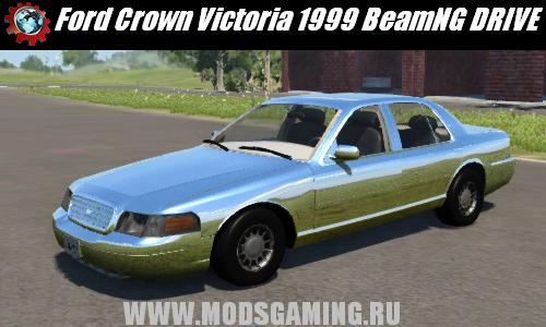 BeamNG DRIVE скачать мод машина Ford Crown Victoria 1999