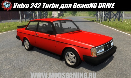 BeamNG DRIVE download mod car Volvo 242 Turbo Evolution