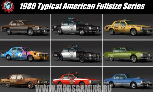 BeamNG.drive download Fashion Park 1980 Car Typical American Fullsize Series
