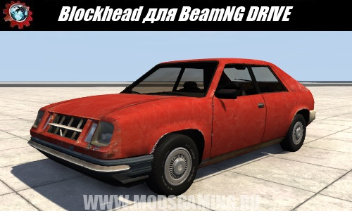 BeamNG DRIVE car mod download Blockhead